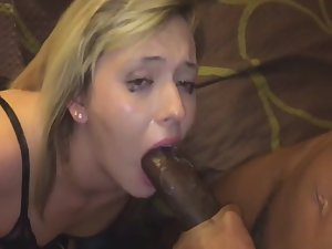 Cuckold couple invites a hung man