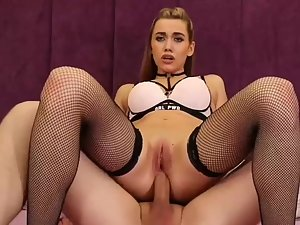 Foxy lady takes a hard dick in all three holes Picture 8