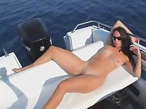 Amazing fuck on a boat in the water