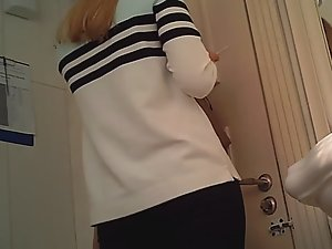 Desirable pussy caught in toilet Picture 8