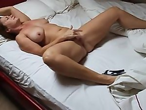 Wife arched her back from an orgasm