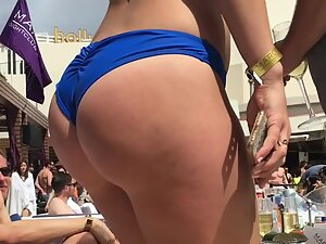 Best big butt on a pool party