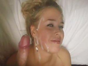 Girlfriend hates sperm on her face