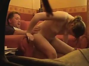 Fast dick riding by a hot girl