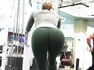 Sexiest workout ever seen by a voyeur